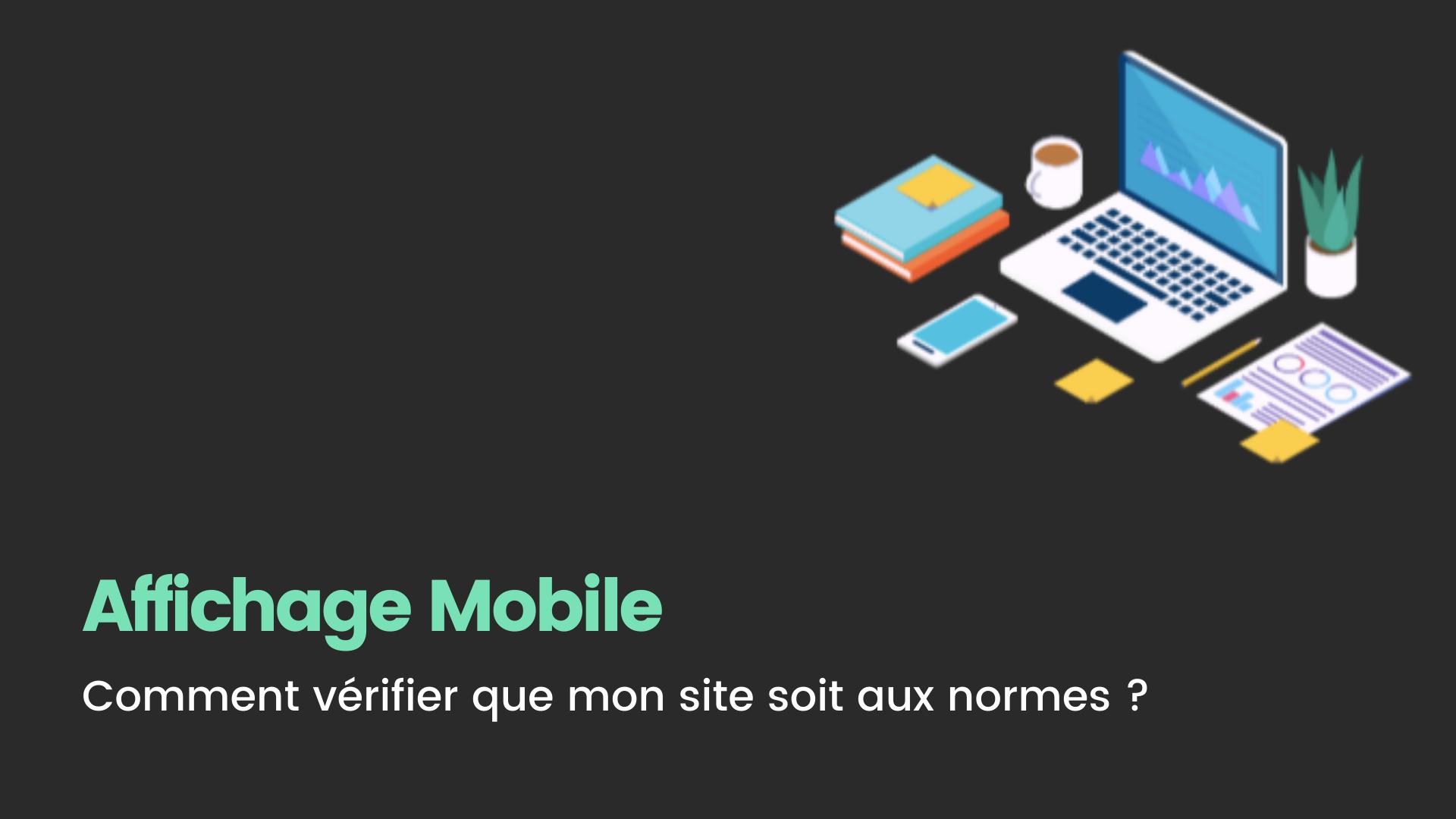 verifier affichage mobile site web